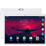 New System 10.1 inch Tablets Android 7.0 3G Phone Call 64GB Octa Core Wi-Fi Bluetooth GPS Dual SIM Tablet PC+Keyboard