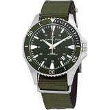 Khaki Navy Automatic Green Dial Watch - Green - Hamilton Watches