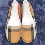 Burberry Shoes | New Burberry Peckfield Espadrilles Sz 34 Or 3 Us | Color: Black/Tan | Size: 3g
