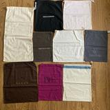 Gucci Accessories   9 Designer Dust Bags Only Gucci Jimmy Choo   Color: Brown/Pink   Size: Os