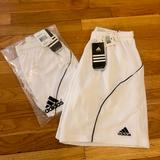 Adidas Bottoms | Sale Two Pairs Nwt Youth Soccer Shorts | Color: White | Size: Youth Xl
