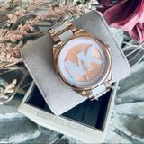 Michael Kors Accessories | Michael Kors Watch | Color: Cream/White | Size: Os