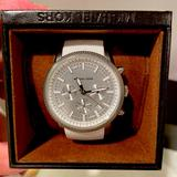 Michael Kors Accessories | Michael Kors - Chronograph Watch | Color: White | Size: Os