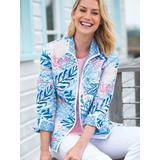 Women's Beachcomber Reversible Quilted Open-Front Jacket, Multi P-XL