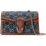 Dionysus Super Mini Bag - Blue - Gucci Clutches