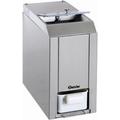 Bartscher Eiscrusher, Edelstahl, Eismaschine für die Zubereitung von Cocktails und Drinks, 1 Stück, Fassungsvermögen: 1 kg
