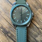 Coach Accessories | Coach Army Green Watch | Color: Green/Tan | Size: Os