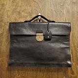 Gucci Bags   Gucci Foldable Briefcase   Color: Black/Gold   Size: Os