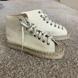 Urban Outfitters Shoes | High Top Espadrille Sandals | Color: Cream/Tan | Size: 8