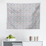 East Urban Home Ambesonne Ottoman Tapestry, Turkish Traditional Ceramic Tulip Patterns w/ Cultural Ottoman Royal Lines Design in Gray   Wayfair