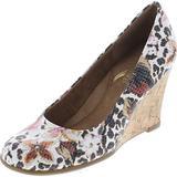 Aerosoles Women's Plum Tree Wedge Sandal,Brown Combo,10