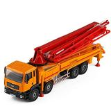 Cartoon Vehicles,1:55 Concrete Pump Truck Model Toy Car In To Choose From Alloy Engineering Vehicle Children's Toy Car Simulation Metal Truck Transporter ToyDiecast Engineering Construction Vehicles