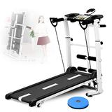 Professional Treadmills Under Desk Walking Treadmill Walking Jogging Running Exercise Fitness Machine 3 in 1 Smart Folding Treadmill with Wide Treadmill Belt for Home/Office Use Easy Assembly