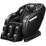 Smart massage chair Massage Chairs Full Body Recliner, Massage Zero Gravity Full Body Electric Shiatsu Recliner with Built-In Heat Foot Roller A Massage System Stretch Vibrating Audio for Home Office,