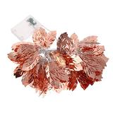 Uonlytech Feather String Light LED Metal Feather Fairy String Light Battery Operated String Lights for Wedding Outdoor Indoor Garden Patio Party Tree Decoration (without Battery)