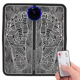 Electric Foot Massager, EMS Foot Massager, EMS Leg Reshaping Foot Massager EMS Electric Foot Stimulator Massager for Home Office Use Men