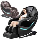 Massage Chair, SL-Track Shiatsu Massage Chair, Zero Gravity Massage Chair, Space Saving Technology, 3D Detect Massage Chairs Full Body and Recliner with Heat Foot Rolling,B
