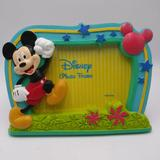 Disney Accents   Mickey Mouse Photo Frame Walt Disney Blue Green Collectible New Picture Frame   Color: Blue/Green   Size: 4 X 6