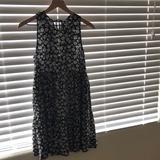 American Eagle Outfitters Dresses   *American Eagle* Floral Print Babydoll Mini Dress   Color: Black/Blue   Size: M