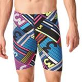 Adidas Swim | Adidas: Like New Condition Graphic Swim Jammer | Color: Blue/Red | Size: 26