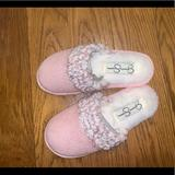 Jessica Simpson Shoes   Jessica Simpson Cozy Slipper For Girls   Color: Pink   Size: 11-12
