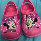 Disney Shoes | Minnie Mouse Sling Back Clogs- Toddler 7-8 Pink | Color: Pink | Size: 7.5g