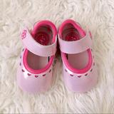 Nike Shoes | Nike Baby Girls Pink Mary Jane Crib Shoes Size 2 | Color: Pink | Size: 2 C (3-6 Months)