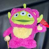 Disney Toys   New Disney Toy Story Alien Plush Toy Limited Lotso   Color: Pink   Size: Osbb