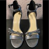 Nine West Shoes   Ladies Nine West Sandals   Color: Gray   Size: 8.5