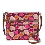Fossil Crossbody, Pink Floral