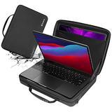 Smatree Hard Laptop Should Bag Compatible for 13-13.3inch Macbook Air/Macbok Pro 2020/12.9inch Apple iPad, Macbook Pro 13 inch Carrying Case, Macbook Air 13 inch 2020 Shoulder Bag
