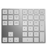 BT308 Numpad, 34 Keys Mini Rechargeable Wireless Numeric Keypad Wireless Keyboard