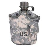 Military Style Canteen, Stainless Steel Military Canteen for Cam /Hiking Canteens for Hiking