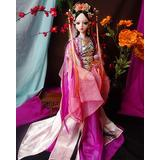 N \ A Chinese Doll 24 Inch Series Doll, Ancient Princess Scene Decoration, Chinese Doll with Beautiful Dress and Unique Hairstyle, Interior Doll for Room Decor, Doll, Clothes Doll, Gift