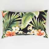 """20"""" x 13"""" Lumbar Pillow by BrylaneHome in Cypress Midnight"""