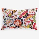 """20"""" x 13"""" Lumbar Pillow by BrylaneHome in Floral Sunshine"""