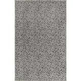 "Liora Manne Carmel Leopard Indoor/Outdoor Rug by Trans-Ocean Import in Grey (Size 7'10"" RD)"