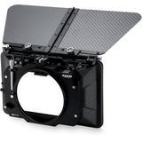 "Tilta 3-Stage 4 x 5.65"" Carbon Fiber Clip-On Matte Box (114mm Back) MB-T12-M114"