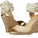 Lilly Pulitzer Shoes   Lilly Pulitzer Gold Espadrille Wedges   Color: Gold/Tan   Size: Various