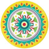Creative Converting Colorful Pottery Paper Plates 24 Count Heavy Duty Paper | Wayfair DTC349560DPLT