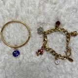 Kate Spade Jewelry | Juicy Couture And Kate Spade Bracelet Bundle | Color: Blue/Gold | Size: Os