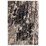 """Liora Manne Fresco Abstract Indoor/Outdoor Rug by Trans-Ocean Import in Navy (Size 7'10""""X9'10"""")"""