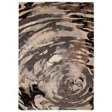 "Liora Manne Fresco Storm Indoor/Outdoor Rug by Trans-Ocean Import in Neutral (Size 4'10""X 7'6"")"