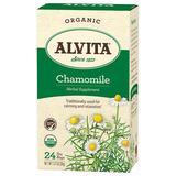 Chamomile Tea Organic, 24 Tea Bags, Alvita Tea