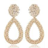 Drop Earrings for Women Women's Jewelry Big Vintage for Women Gold Color Water Drop Statement Earring Earing Hanging Fashion Party Jewelry Trend Funny Birthday Gift Holiday Gift