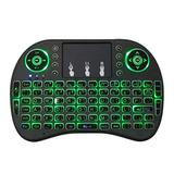 TAOYIDA Support Language: Russian i8 Air Mouse Radio Backlight Keyboard with Touchpad for Android TV Box & Sassy TV & PC Tablet & Xbox360 & PS3 & HTPC/IPTV
