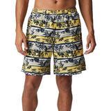 Columbia Mens Super Backcast Palm Stripe Swim Shorts