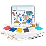 Hand Made Modern Marbled Clay Craft Kit, Multicolor