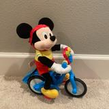 Disney Toys | Mickey Mouse Bike Riding Toy | Color: Blue/Red | Size: 10x12