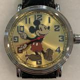 Disney Jewelry | Mickey Mouse Watch | Color: Brown | Size: Os